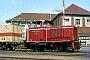 "MaK 220028 - BE ""D 12"" 15.05.1975 - Nordhorn, BahnhofLudger Kenning"