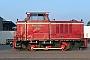 "MaK 220028 - Graf MEC ""D 12"" 04.09.2013 - Nordhorn, Betriebshof Bentheimer EisenbahnNils vor der Straße"