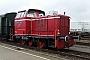 """MaK 220028 - Graf MEC """"D 12"""" 25.06.2016 - Coevorden, EuroterminalNils vor der Straße"""