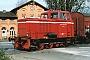 """MaK 220034 - WKB """"DL 2"""" 10.04.1990 - Bohmte, BahnhofChristoph Weleda"""