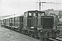 """MaK 220036 - Gelnhäuser Kreisbahnen """"VL 11"""" 28.06.1980 - Bad OrbKlaus Görs"""