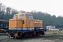 """MaK 220059 - Seehafen Kiel """"3"""" 02.12.1996 - Kiel-WikTomke Scheel"""