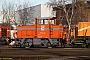 "MaK 220106 - RheinCargo ""22"" 28.12.2015 - Brühl-Vochem, RheinCargo BahnbetriebswerkAxel Schaer"