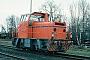 """MaK 220110 - HBG """"6"""" 03.03.1995 - Braunschweig, HafenHelge Deutgen"""