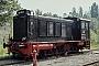 """MaK 360020 - DB """"236 411-5"""" 08.07.1981 - Bremen, AusbesserungswerkJulius Kaiser"""