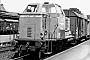 """MaK 400004 - NVAG """"DL 1"""" 12.08.1975 - Niebüll DBKlaus Görs"""