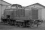 "MaK 400041 - WZTE ""277"" 07.10.1972 - Zeven, BahnbetriebswerkHelmut Philipp"
