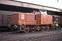 """MaK 500004 - AKN """"V 2.004"""" 07.11.1986 - Lüneburg, BahnhofThomas Gottschewsky"""