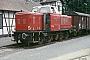 """MaK 500017 - Ilmebahn """"V 601"""" 27.07.1984 - Dassel, BahnhofIngmar Weidig"""
