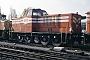 MaK 500020 - On Rail 21.11.1990 - Moers, NIAGTomke Scheel