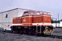 """MaK 500022 - RLG """"D 65"""" 26.07.1981 - Neheim-Hüsten, BahnhofJohann Schwalke"""