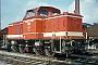 "MaK 500023 - WLE ""VL 0612"" 13.08.1980 - Lippstadt, Bahnbetriebswerk Stirper Str.Michael Höltge"