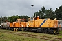 "MaK 500045 - northrail ""98 80 0266 003-9 D-NTS"" 15.09.2017 - Celle, Bahnhof Celle Nord (OHE)