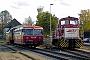 "MaK 500068 - EVB ""306 51"" 26.10.2003 - Bremervörde, BahnhofMalte Werning"