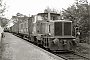 """MaK 501038 - WWW """"6"""" __.08.1962 - BomlitzReinhard Todt (Archiv Eisenbahnstiftung)"""