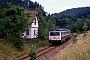"""MaK 522 - DB """"627 007-8"""" 27.06.1989 Schenkenzell [D] Malte Werning"""