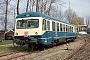 """MaK 524 - DB Regio """"627 101-9"""" 23.03.2005 - Karlsruhe, WagenausbesserungswerkJoachim Lutz"""