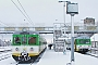 "MaK 525 - KM ""VT 627-102"" 17.12.2005 - Tłuszcz, BahnhofPiotr Kilczuk"