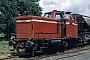 """MaK 600004 - MHE """"D 02"""" 03.08.1983 - LewinghausenDietrich Bothe"""