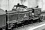 """MaK 600005 - DB """"265 002-6"""" 14.08.1975 - Hamburg-Diebsteich, PostbahnhofKlaus Görs"""