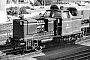 """MaK 600007 - DB """"265 004-2"""" 15.08.1975 - Hamburg-Diebsteich, PostbahnhofKlaus Görs"""