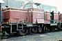 "MaK 600013 - DB ""265 010-9"" 08.08.1979 - Bremen, AusbesserungswerkThomas Beller"