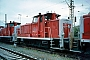 """MaK 600073 - DB Cargo """"360 152-3"""" 04.06.2001 - Mannheim, BetriebshofErnst Lauer"""