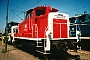 "MaK 600087 - DB ""360 166-3"" 20.07.1990 - Mannheim, BahnbetriebswerkAndreas Kabelitz"