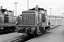 "MaK 600090 - DB ""260 169-8"" 13.11.1977 - Mannheim, Bahnbetriebswerk RbfKarl-Heinz Sprich (Archiv ILA Barths)"