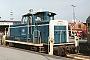 """MaK 600100 - DB """"360 002-0"""" 01.10.1993 - Westerland (Sylt), BahnhofClaus Tiedemann"""