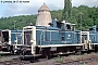 """MaK 600102 - DB """"360 004-6"""" 28.07.1992 - Kassel, AusbesserungswerkNorbert Schmitz"""