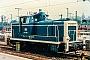 "MaK 600104 - DB ""260 006-2"" 12.07.1985 - Stuttgart, HauptbahnhofMalte Werning"