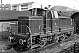 "MaK 600108 - DB ""V 60 1010"" __.__.1959 - Stuttgart-Untertürkheim, RangierbahnhofFritz Wilke [†] (Archiv Stefan Carstens)"