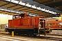 """MaK 600182 - DB Schenker """"363 424-3 """" 16.01.2012 - Chemnitz, HauptbahnhofKlaus Hentschel"""