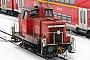 """MaK 600183 - DB Schenker """"363 425-0"""" 01.02.2010 - Kiel, HauptbahnhofTomke Scheel"""