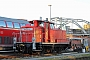 """MaK 600183 - DB Schenker """"363 425-0 """" 26.02.2012 - Kiel, HauptbahnhofTomke Scheel"""