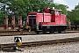 """MaK 600224 - DB Schenker """"363 635-4"""" 29.07.2009 - Maschen, RangierbahnhofJulius Kaiser"""