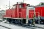 "MaK 600231 - DB Cargo ""365 642-8"" 22.02.2002 - Dresden, HauptbahnhofTheo Stolz"