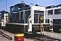 """MaK 600251 - DB """"365 662-6"""" 11.08.1990 - Mannheim, BahnbetriebswerkErnst Lauer"""