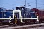 """MaK 600253 - DB """"365 664-2"""" 21.07.1990 - Mannheim, BahnbetriebswerkErnst Lauer"""