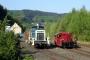 """MaK 600260 - Aggerbahn """"261 671-2""""  28.04.2007 - Osberghausen, BahnhofUlrich Clees"""