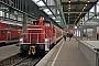 """MaK 600281 - DB Schenker """"363 692-5"""" 22.12.2012 - Stuttgart, HauptbahnhofWerner Schwan"""