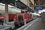 """MaK 600281 - DB Cargo """"363 692-5"""" 23.12.2016 - Stuttgart, HauptbahnhofWerner Schwan"""