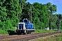 """MaK 600284 - Lokvermietung Aggerbahn """"365 695-6"""" 23.05.2014 - Ratingen-LintorfLothar Weber"""