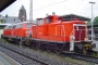"""MaK 600288 - DB AG """"363 699-0"""" 07.05.2004 - Gießen, HauptbahnhofSven Ackermann"""