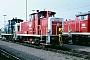"""MaK 600288 - DB """"365 699-8"""" 30.09.1990 - Mannheim, BahnbetriebswerkErnst Lauer"""
