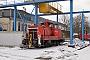 """MaK 600296 - DB Schenker """"363 707-1"""" 19.01.2013 - Meiningen, DampflokwerkWerner Schwan"""