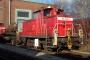 "MaK 600297 - DB AG ""363 708-9"" 15.01.2007 - Ingolstadt, BahnbetriebswerkHans-D. Lichtenhof"