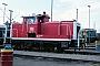 """MaK 600302 - DB """"365 713-7"""" 01.07.1990 - Mannheim, BahnbetriebswerkErnst Lauer"""