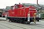 """MaK 600306 - DB AG """"363 717-0"""" 19.09.1998 - Chemnitz, AusbesserungswerkHeiko Müller"""